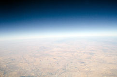 High altitude view of the Earth Royalty Free Stock Photography