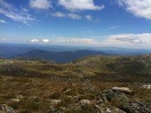 Hiking to Mount Kosciuszko summit Stock Photography