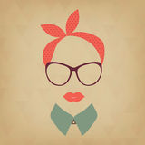 Hipster   lady Stock Images