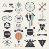 Hipster style elements Royalty Free Stock Image