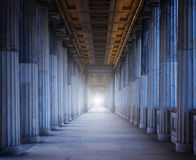 Historical building with many columns Stock Image