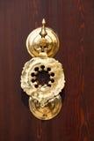 Historical Hagia Sophia doorknocker detail Stock Photo
