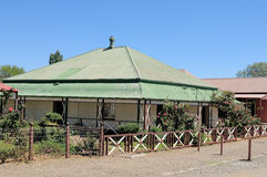 Historical house, Kimberley Royalty Free Stock Photo