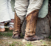 Historical shoes Royalty Free Stock Photography