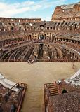 Historical Sight - Roman Colosseum, Italy Royalty Free Stock Photography