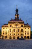The historical Town Hall in Luneburg Royalty Free Stock Photo