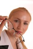 Holding Glasses Royalty Free Stock Photos