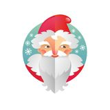 Holiday New Year and Christmas Father Frost and Santa Claus Royalty Free Stock Photos