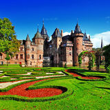 Holland castle de Haar Royalty Free Stock Image
