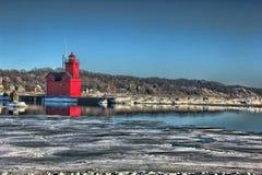Holland lighthouse Stock Photo