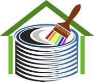 Home decor logo Royalty Free Stock Image