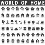 Home and house Royalty Free Stock Photo