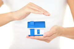 Home insurance and protection Royalty Free Stock Image
