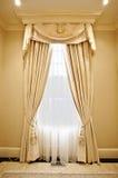 Home interior: Drapery Royalty Free Stock Photo