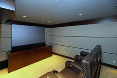 Home Theater Royalty Free Stock Photos
