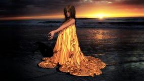 A hora dourada Fotografia de Stock