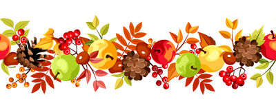 http://static.dreamstime.com/t/horizontal-seamless-background-colorful-autumn-leaves-apples-cones-vector-illustration-rowanberries-chestnuts-white-44692943.jpg
