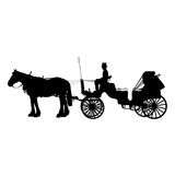 Horse and Buggy Royalty Free Stock Photos