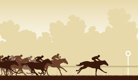 Horse race Royalty Free Stock Image