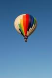 Hot air balloon in flight Stock Photo