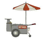Hot dog stand Stock Photography