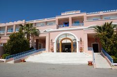 Hotel entrance Royalty Free Stock Image
