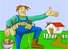 House repairs Stock Images