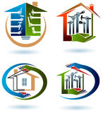 House work team Royalty Free Stock Images