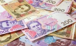 Hryvnia ucraniano do dinheiro A moeda nacional Fotos de Stock Royalty Free