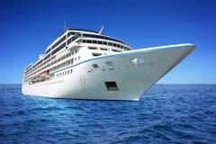 Huge luxury cruise ship Royalty Free Stock Photo