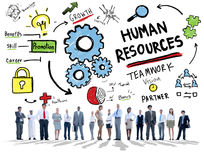 Human Resources Employment Teamwork Corporate Business People Stock Photo