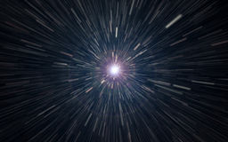 Hyperspace jump. Stock Photography