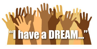 I Have a Dream/eps Royalty Free Stock Photography