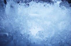 Ice blue texture Stock Photo