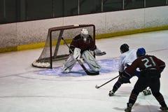 Ice Hockey Action Stock Photo