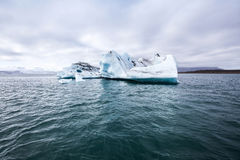 Iceberg de fonte Photographie stock