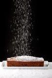Icing sugar falling Royalty Free Stock Image