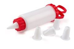 Icing syringe Royalty Free Stock Photography