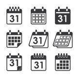 Icon calendar Stock Image