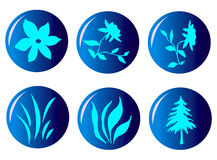 Icon set 01 Royalty Free Stock Photography