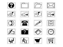 Icon Set Royalty Free Stock Images