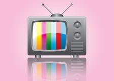 Icona della TV Fotografia Stock Libera da Diritti