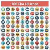 Iconos fijados Foto de archivo