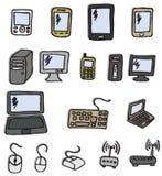 Icons - Electronics Stock Photography