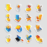 Icons for retail commerce Stock Images