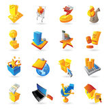 Icons for retail commerce Royalty Free Stock Images