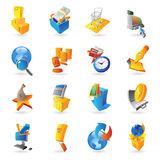 Icons for retail commerce Stock Image