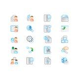 Icons set Royalty Free Stock Photos