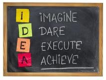 Idea - motivation concept Stock Image