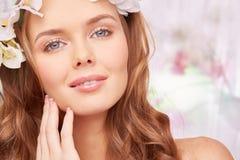 Ideal makeup Stock Image